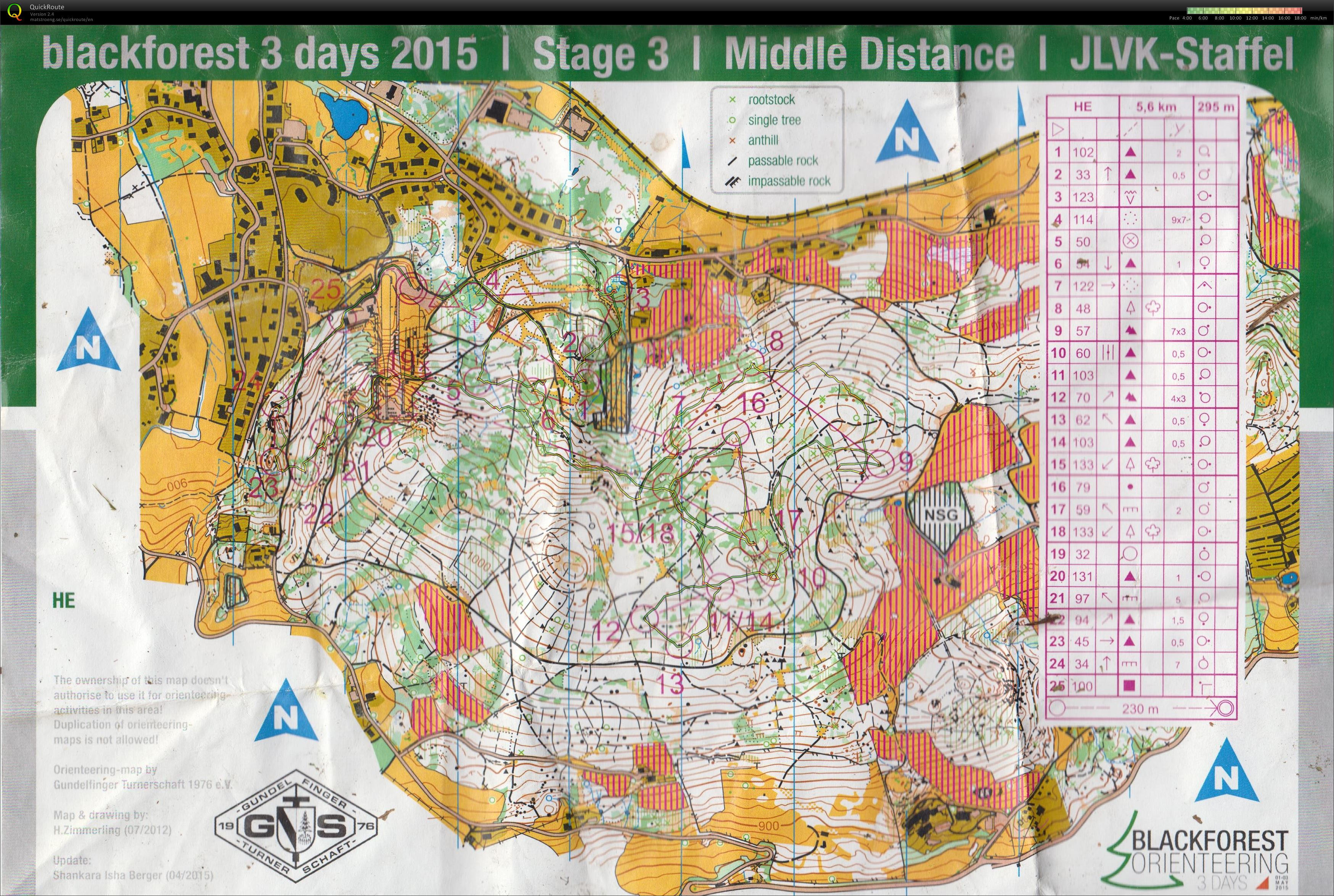 Black Forest 3 days Stage 3 (03/05/2015)